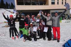 Das Ski- und Snowboardteam THG