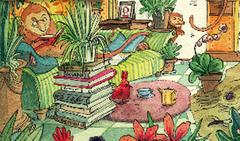 Lesung - Ausschnitt Plakat von Lisa S. Rackwitz