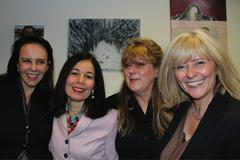 Clelia Apostel, Lydia Ameral, Gloria Jarden-Berghout, Angela Preijs
