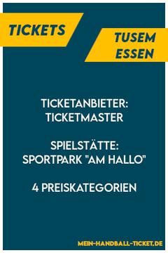 TUSEM Essen Tickets Handball