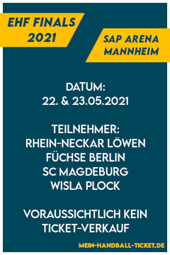EHF Finals 2021  European League Mannheim