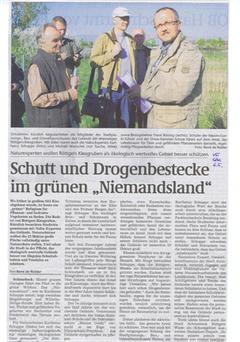 Volksstimme Schönebeck vom 06.05.2009