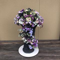 プランツギャザリング、ラウンド、花、花苗、アレンジメント、綺麗、贈答、水やり、園芸、庭、玄関のお花