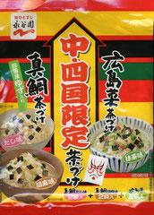 中・四国限定・真鯛茶づけ 広島菜茶づけ