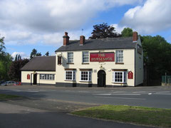 The Horseshoe pub on Millpool Hill on Alcester Road South next to the canal. © Copyright David Stowell and licensed for reuse under this Creative Commons Licence. Geograph OS reference SP0779 - go to Acknowledgemnts for a link to the Geograph website.