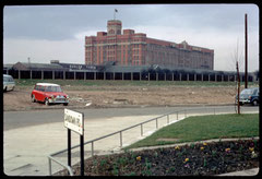 Fort Dunlop office block photographed by Phyllis Nicklin in 1968. See Acknowledgements Keith Berry.