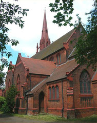 St Mary & St Ambrose photographed by Oosoom and downloaded from Wikipedia. Image reusable under a GNU Free Documentation License.