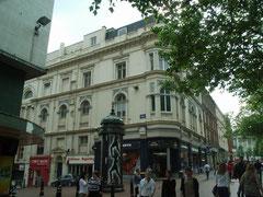 The Masonic Hall at the corner of Ethel Street