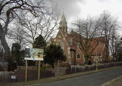 St James' Church just after its conversion into dwellings