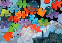 Pimpinella und die Fantasie_2010_ 80x110 cm
