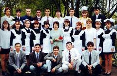 Выпускники 1999 г. Классный руководитель - Габдиева Р.М.
