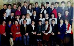 Выпускники 1995 г. Классный руководитель - Мадьярова С.Ф.