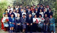 Выпускники 1996 г. Классный руководитель - Зиганшина А.Ш.