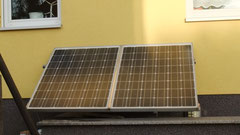 Photovoltaikmodule als Überdachung