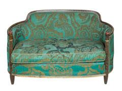 Art Déco Ensemble, consisting of 2 armchairs and 1 canapé, Paris about 1925