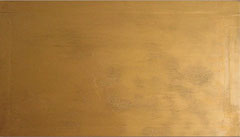 or    /  huile sur toile  /    75 x 42