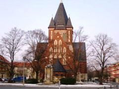 Die Christuskirche in Berlin-Oberschöneweide