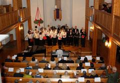 Blick in die EMA-Kirche