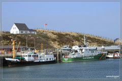 Der Hafen von Hörnum.