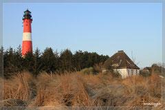 Der Leuchtturm von Hörnum.