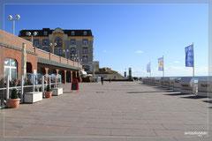 Strandpromenade in Westerland.