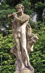 Junger Flöte spielender Faun (Johann Peter Benckert um 1754)