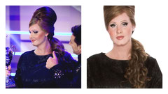 RTL Your Face Sounds Familiar / Model: Charly Luske als Adele (winner) / SFX: Kevin van den Bergh / Make-up: Victoria Boo