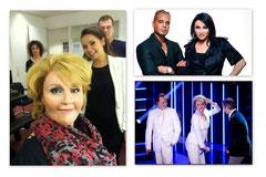 RTL Your Face Sounds Familiar / Model: Anita Doth (2Unlimited) als Marianne Weber / SFX: Kevin van den Bergh / Make-up: Victoria Boo