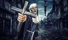 Zombie - Walibi Holland Halloween Fright Nights