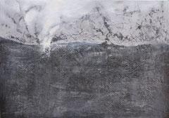 Frostig, Mischtechnik auf Leinwand , 70x100