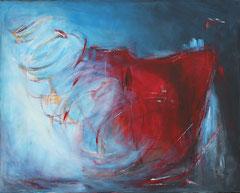 Der Engel, Acryl auf Leinwand, 80 x 100 cm