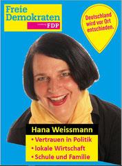 Hana Weissmann: Schule, Wirtschaft, Familie, mehr unter: http://hanaweissmann.de/