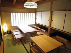 伊勢・おかげ横丁・テーブル・椅子