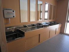 学校・手洗い