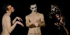 In Your face #15 <br> Modèle : Julien Matthieu <br> Photographe :  Mily - Shaker d'Art