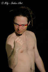 In Your face #13 <br>Modèle : Paul Buchaillat, 25 ans <br>  Photographe :  Mily - Shaker d'Art