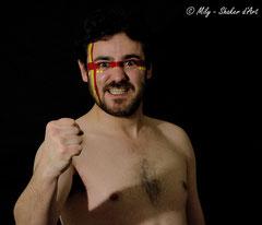 In Your face #6 <br> Modèle : Joseph Oneglia, 26 ans <br> Photographe :  Mily - Shaker d'Art