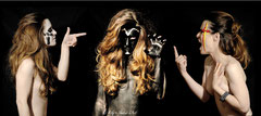 In Your face #30 <br> Modèle : Aurélie Berbey <br> Photographe :  Mily - Shaker d'Art