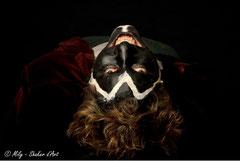 In Your face #5 <br> Modèle : Selim Beloufa <br> Photographe :  Mily - Shaker d'Art