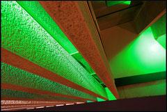 Iluminacja fasady ambasady meksykanskiej
