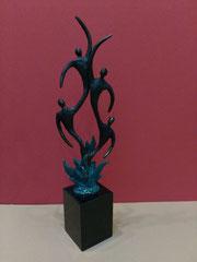 """Flora"", Marmorsockel, bronziert,  Höhe: ca. 27 cm, 119,-€*"