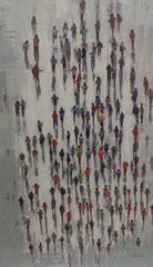 """""""Von oben betrachtet"""", Original auf Leinwand, 90 x 140 cm, 298,- €*"""