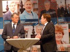 Reimer Böge, MdEP im Gespräch mit Andreas Otto
