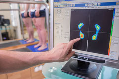 Podologia deportiva. Estudio de presiones en estatica