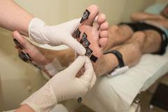 Podologia deportiva. Estudio de presiones con sensores en dinámica y gesto deportivo