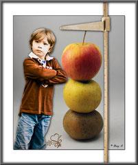 LADYFRANCE - Haut comme trois pommes