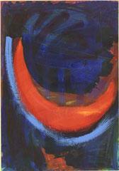 """Nr.: 028     """"Mondesleuchten 1""""    70*100 cm"""