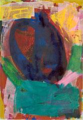 "Nr.: 071  ""Blauer Granatapfel""   70*100 cm"