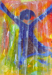 "Nr.: 087  ""Tanz im Regen"" 70*100 cm"