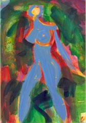 """Nr.: 062  """"Glühen im Wald""""  70*100 cm"""